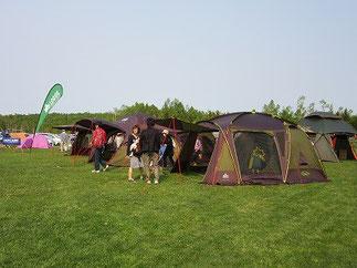 第7回北海道キャンピングフェアに展示出展します