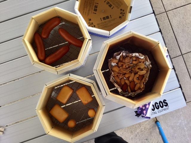 ロゴスショップ茨城店 「秋の味覚!ファミリーでスモーク体験♪」レポート