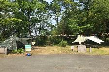 「SHIKOKUキャンホリ-キャンプな休日-in国営讃岐まんのう公園」に出展致しました。