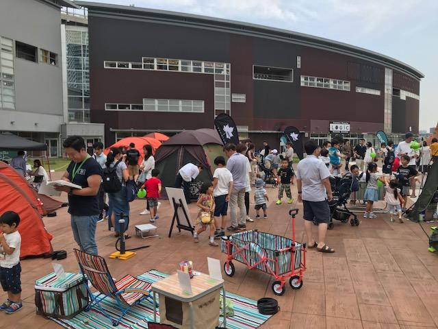 ららぽーと豊洲にて行われた'アウトドアフェア'大盛況でした!