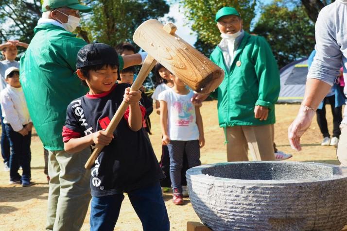 熊取町おおさか「山の日」イベントに協力しました。