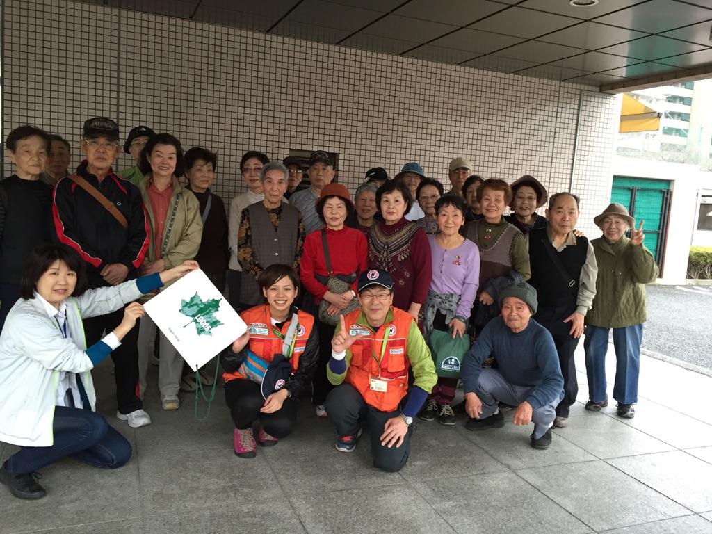 大阪市住之江区「みんなで歩こう会」を開催しました