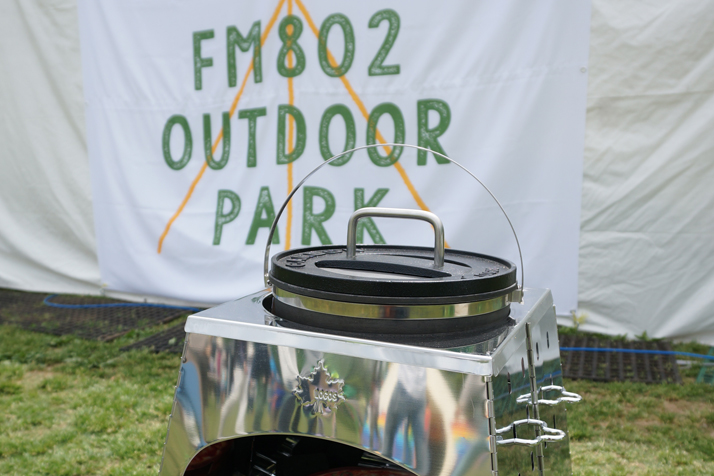 FM802 OUTDOOR PARKに出展しました